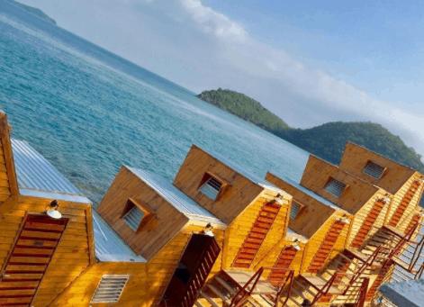 Nhà tổ ong dành cho khách nghỉ ngơi