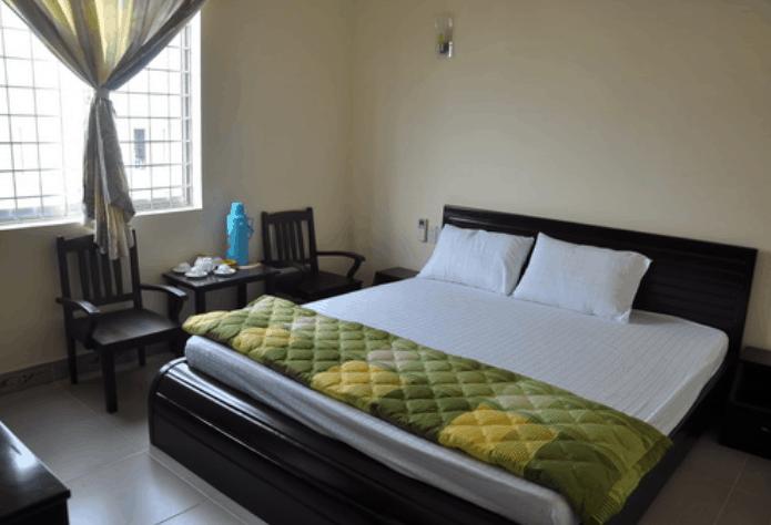 Phòng ngủ sạch sẽ và thoáng mát