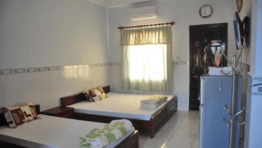 Phòng ngủ 4 khách của nhà nghỉ Lý Minh