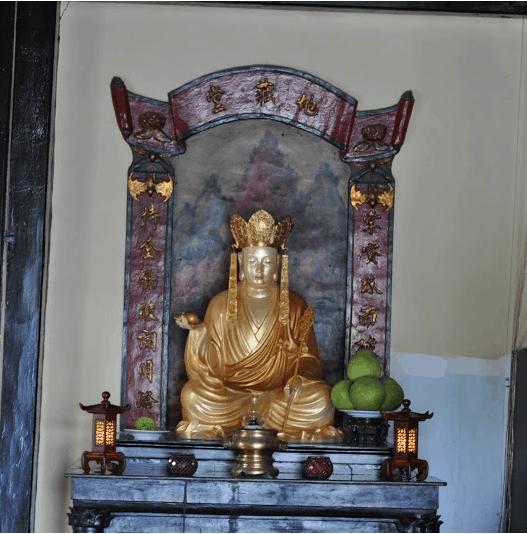 Ngôi chùa đã được trùng tu nhiều lần