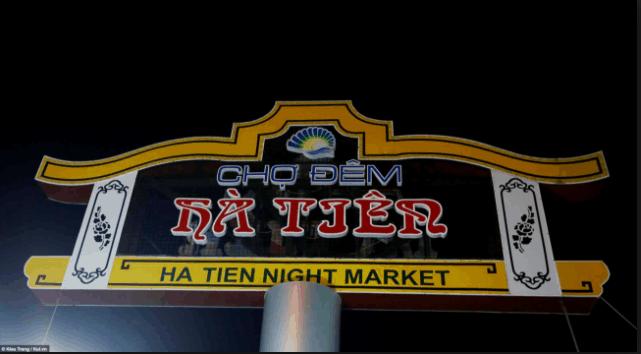 Chợ đêm Hà Tiên đông vui tấp nập
