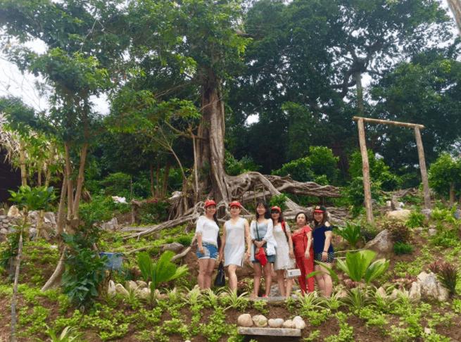 Thư giãn ở khu du lịch Humiso Nam Du