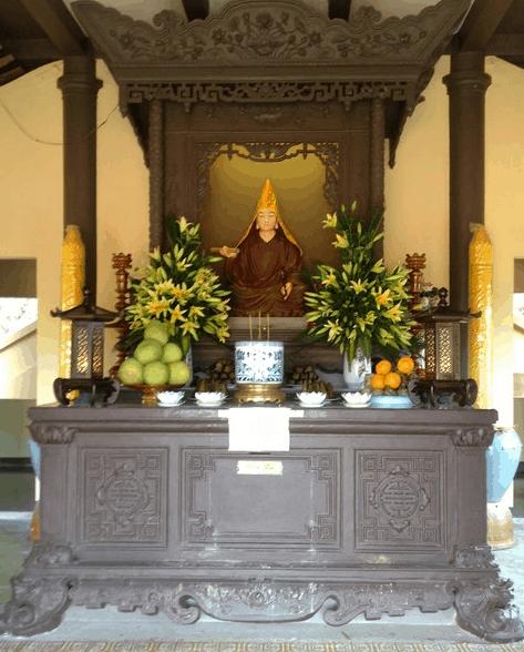 Linh thiêng chùa Phù Dung cổ tự
