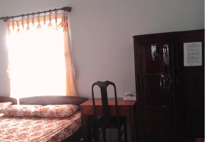 Thiết kế phòng ngủ nhà nghỉ Trọng Ý
