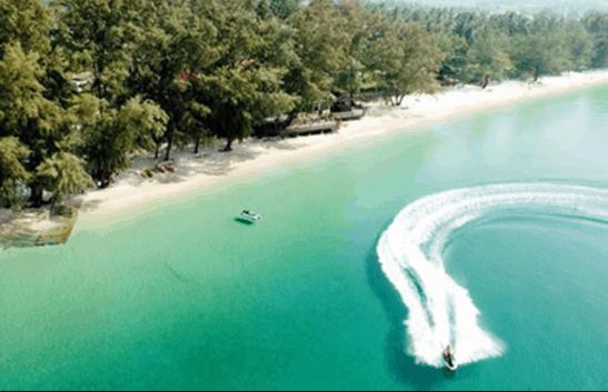 Vẻ đẹp những bãi biển Hà Tiên