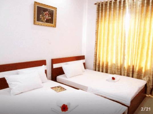 Phòng ngủ đầy đủ tiện nghi cơ bản