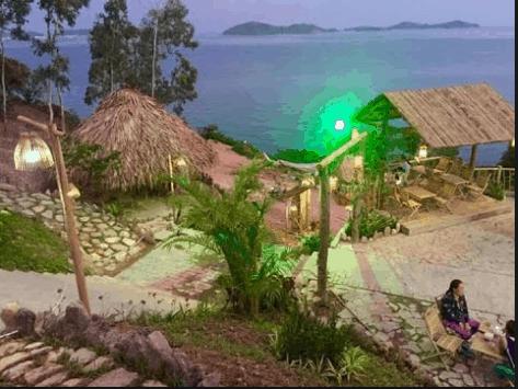 Địa điểm vui chơi phục vụ du khách đến đảo và người dân trên trên đảo