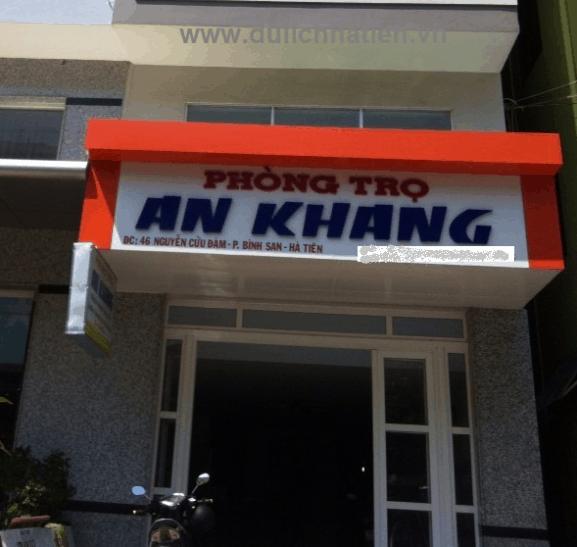 Nhà nghỉ An Khang