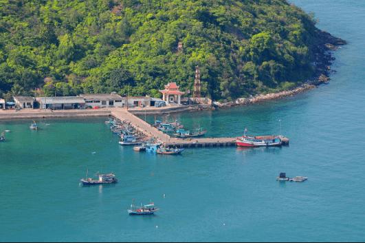 Cầu cảng đảo Nam Du