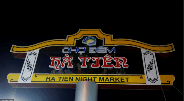 Chợ đêm Hà Tiên nổi tiếng đông vui
