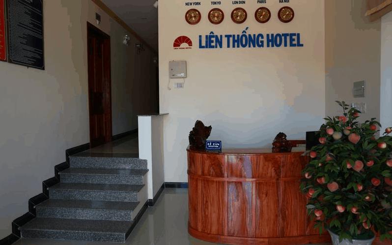 Quầy lễ tân khách sạn Liên Thống
