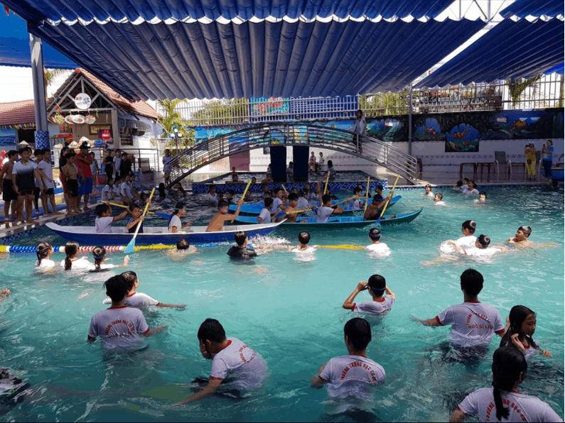 Hoạt động dưới nước vô cùng thú vị