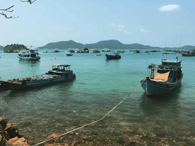 Vẻ đẹp tĩnh lặng nơi đảo Nam Du