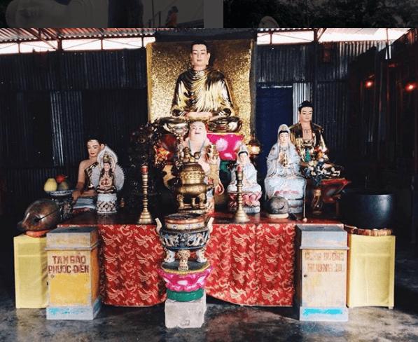 Nơi thờ cúng trong chùa