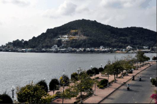 Khung cảnh xung quanh núi Tô Châu