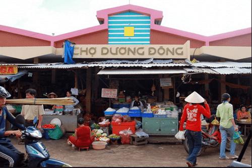 Địa điểm tham quan mua sắm của du khách