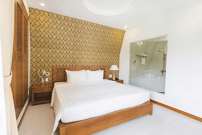 Thiết kế phòng ngủ hiện đại ở khách sạn Sandy