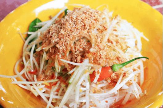 Bát bún kèn thơm ngon ở Hà Tiên