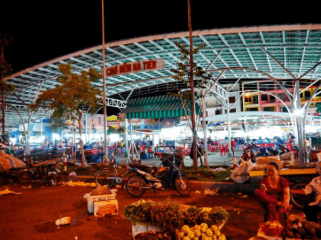 Chợ đêm Hà Tiên ở đâu?