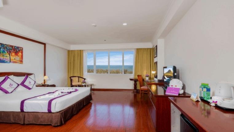 Thiết kế phòng ngủ của khách sạn TTC