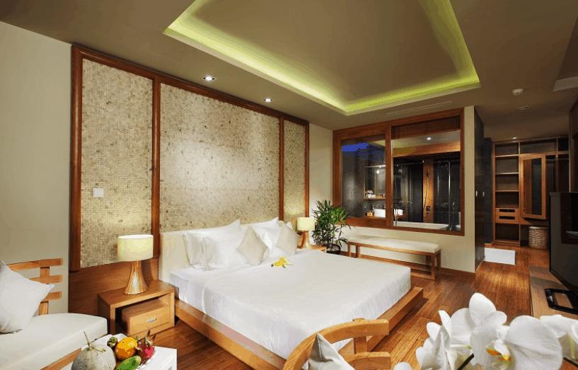Phòng ngủ hiện đại nhưng ấm cúng