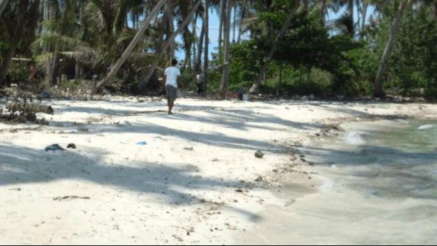 Hòn Mấu trên đảo Nam Du
