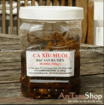 Cà xỉu muối nổi tiếng Hà Tiên