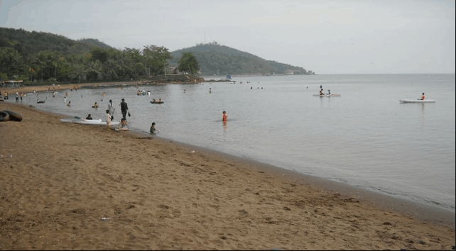 Bãi tắm Mũi Nai Hà Tiên