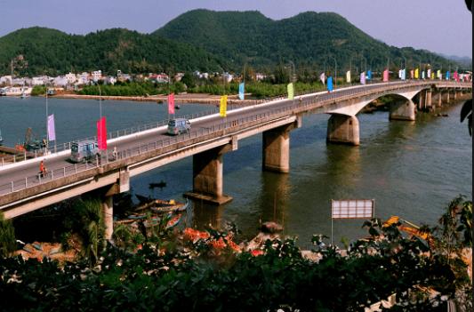 Cây cầu dẫn đến núi Tô Châu