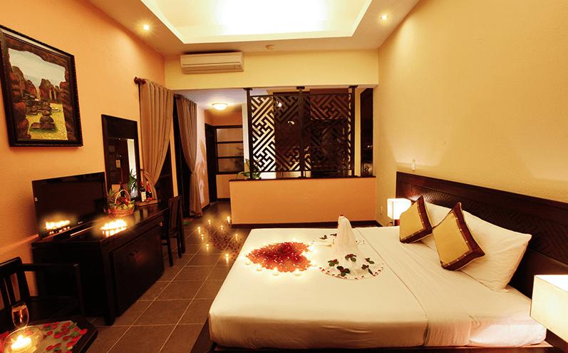 Phong cách trang trí phòng ngủ lãng mạn