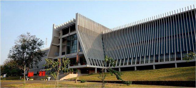 Bảo tàng cũng mang nét kiến trúc đặc trưng của đồng bào dân tộc (ẢNH ST)