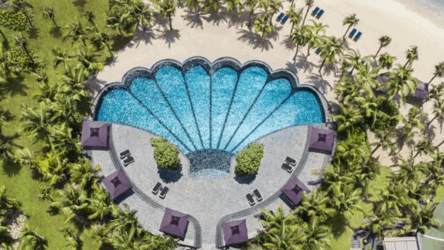 Bể bơi ngoài trời siêu đẹp tại JW Marriott Phu Quoc Emerald Bay