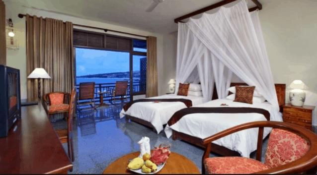 Các phòng nghỉ tại Rock Water Bay đều có view hướng biển đẹp