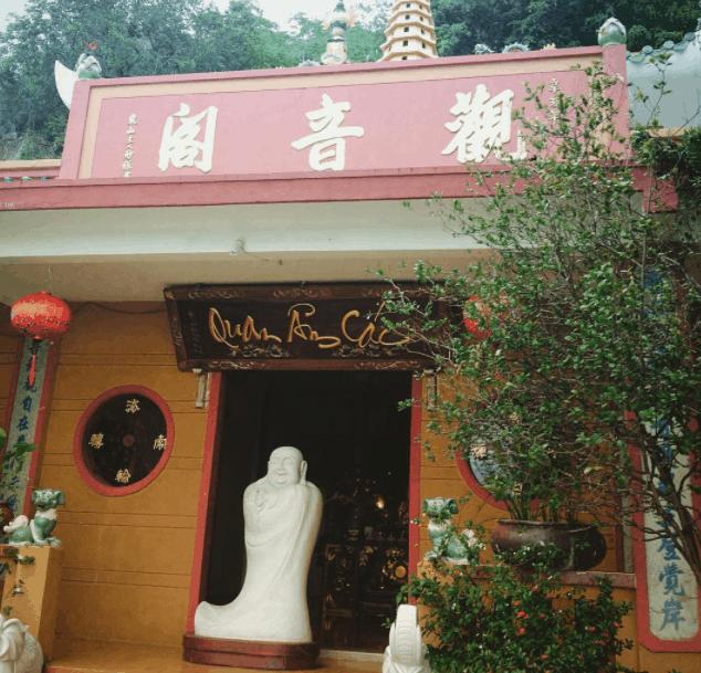 Chánh điện chùa Quan Âm Các