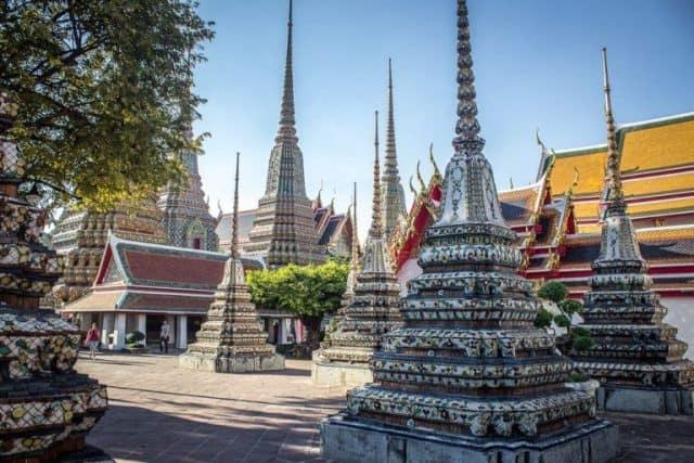 Không gian thoáng đãng, thanh tịnh nơi cửa Phật (Ảnh ST)