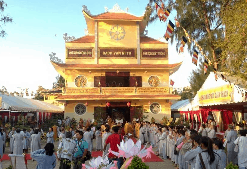 Tham quan chùa Bạch Vân Ni Tự