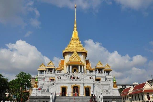 Chùa Phật Vàng Bangkok, Thái Lan (Ảnh ST)