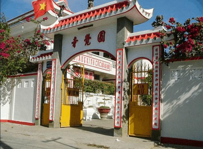 Chùa Viên Giác là ngôi chùa nổi tiếng tại Bến Tre