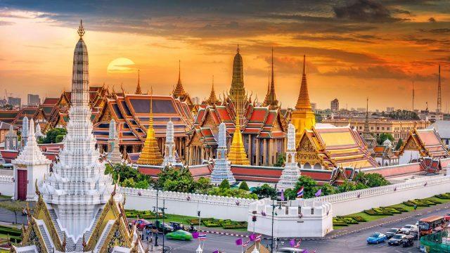 Toàn cảnh cung điện Hoàng gia Thái Lan và chùa Phật Ngọc (Ảnh ST)