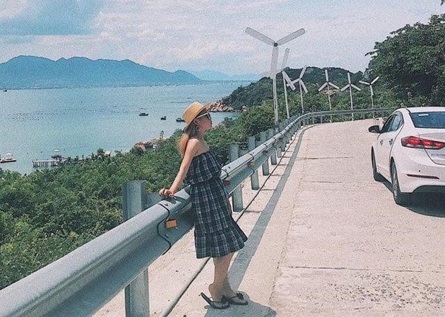Đường đi ra tới đảo Bình Lập nơi mà KDL Sao Biển đang chào đón bạn (ẢNH ST)