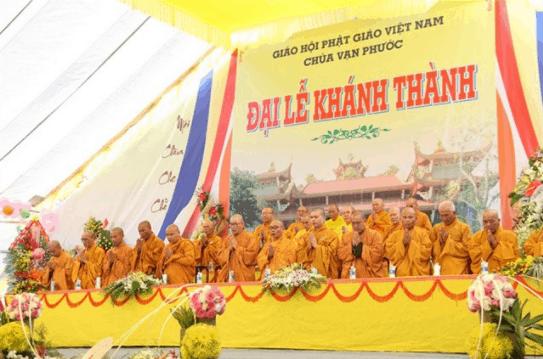 Đại lễ khánh thành chùa Vạn Phước