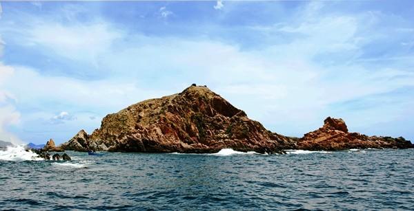 Hòn đảo với góc nhìn từ xa (Ảnh ST)