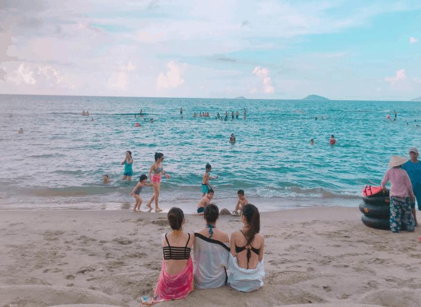 đến biển Bình Đại tránh nóng mùa hè