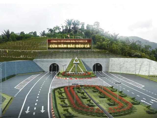 The road tunnel through Ca Pass will be inaugurated in August 2017 (ST PHOTO)