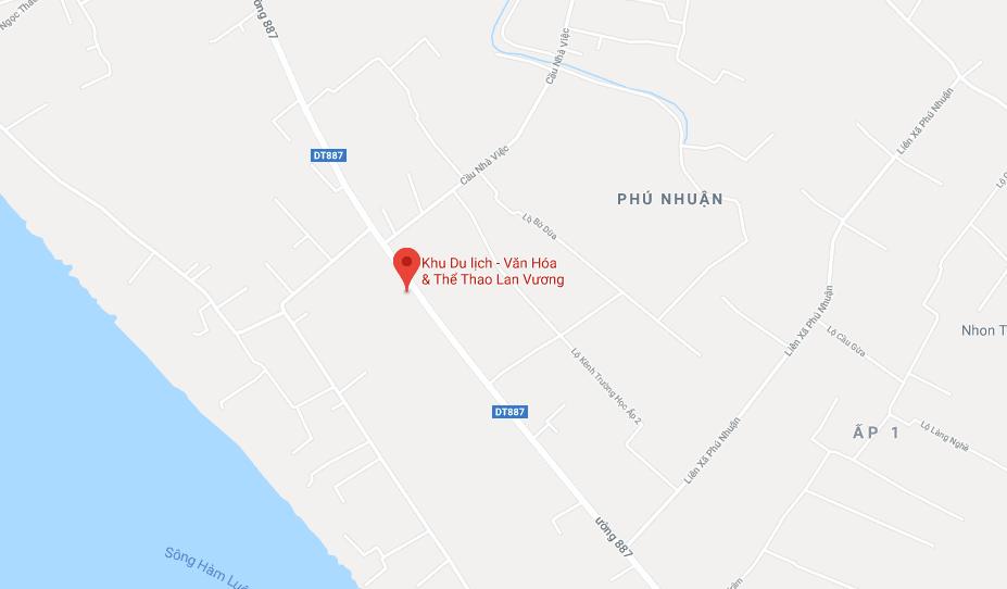 Địa chỉ khu du lịch Lan Vương