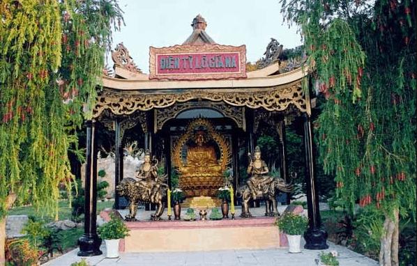 Điện Tỳ Lô Giá Na