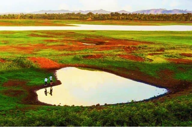 Khung cảnh bình yên ở hồ Ae Kao (ẢNH ST)
