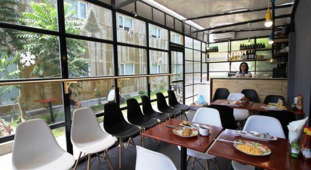 Khu vực phục vụ bữa sáng của khách sạn (ảnh ST)