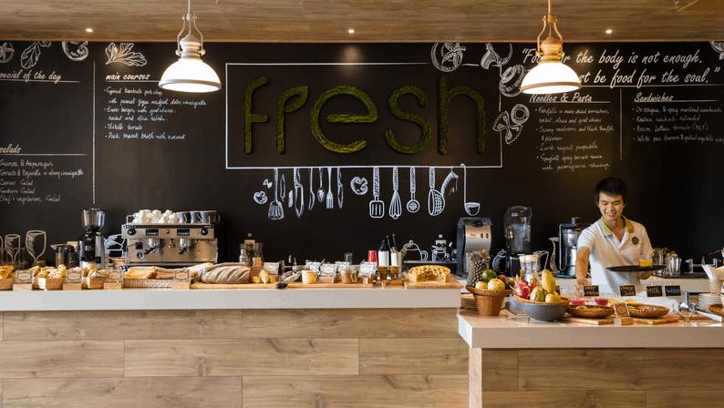 Hấp dẫn với những món ăn tại nhà hàng Fresh