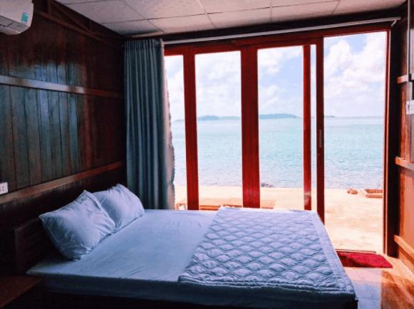 Homestay có view hướng biển tuyệt đẹp